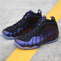 """[ Free  Shipping ]Nike Air Foamposite One """"Eggplant"""" 314996-008   Running  Sneaker"""