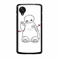 Hello I Love Baymax Nexus 5 Case