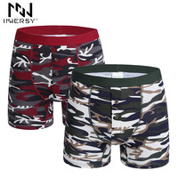 Boxer Men Underwear Boxers Men Print Boxer Shorts Cotton Camouflage Underwear Male Underpants Sexy