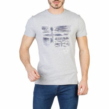 Napapijri Men Grey T-shirts