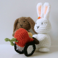 Amigurumi Pattern - Bunny - Rabbit - Easter Crochet Pattern -