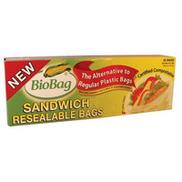 Biobag Resealable Sandwich Bags