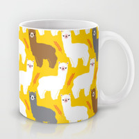 The Alpacas Mug by Littleoddforest