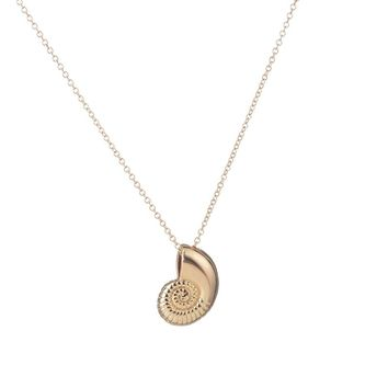New Gold Ariel Voice Shell Necklace - Gold or Silver - Ships Free