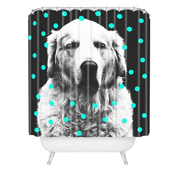 Elisabeth Fredriksson Sleepy Dog Shower Curtain