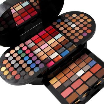 Professional matte shimmer full makeup sets