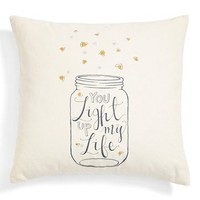 Nordstrom at Home 'You Light Up My Life' Accent Pillow | Nordstrom