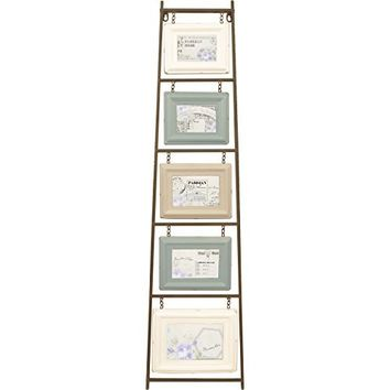 Vertical Photo Collage Picture Frame / Photo Frame Tree with 5 Frames 4 x 6 (Multi Color)