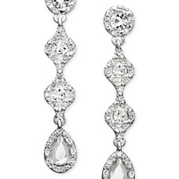 Charter Club Crystal Linear Drop - Jewelry & Watches - Macy's
