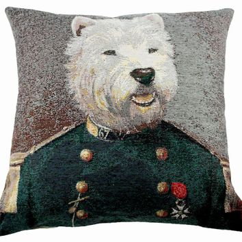 Poncelet Sir  Decorative Pillow Cushion Cover