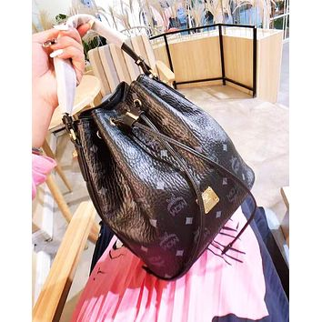 MCM hot seller of casual printed lady's single shoulder bag with fashionable diagonal straddle
