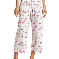 HUE Women`s Flamingo Mingle Capri