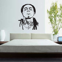 lil wayne wall decal vinyl sticker tickets art graphic YMCMB drake