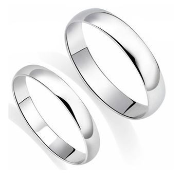 Classic 3mm Wedding Wedding Bands For Lovers Dlwql023