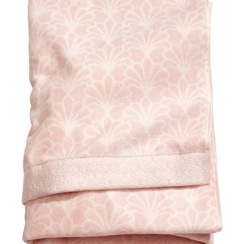 H&M - Bath Towel - Light pink