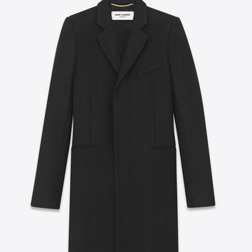 SAINT LAURENT ‎MASCULINE WOOL COAT ‎ | YSL.COM