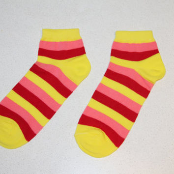 Socks woman,cotton socks, funny socks, socks , socks with stripes