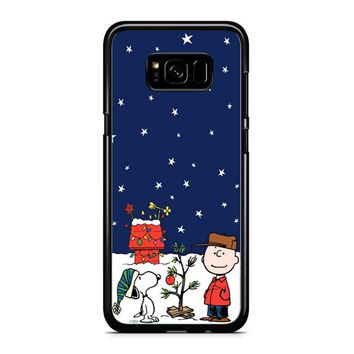 Charlie Brown Peanuts Snoopy Samsung Galaxy S8 Plus Case