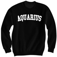 Aquarius Crewneck Sweatshirt