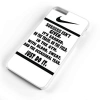Just Do It Quote Basketball iPhone 6s Plus Case iPhone 6s Case iPhone 6 Plus Case iPhone 6 Case