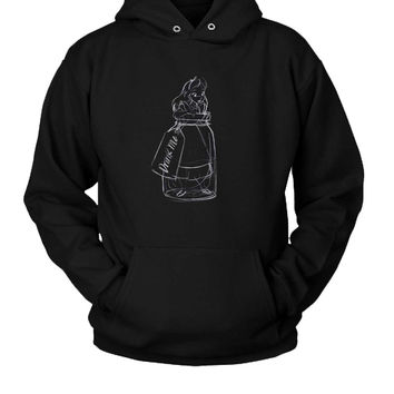 Drink Me Alice In Wonderland Hoodie Two Sided