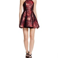 AQUA Rose Bud Brocade Dress - Bloomingdale's Exclusive | Bloomingdales's