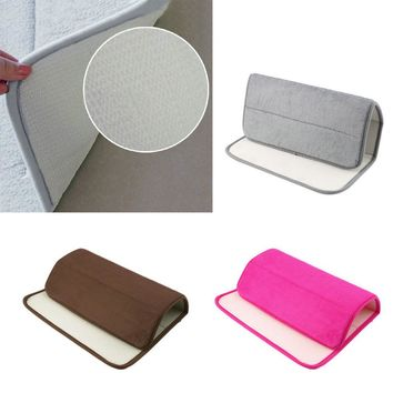 Hot Search Memory Foam Bath Mats Bathroom Horizontal Stripes Rug Absorbent Non-slip Bath Mats