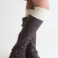 Along For The Ride Brown Riding Boot