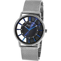Kenneth Cole New York Lewiston Brushed Stainless Steel Mesh Bracelet W