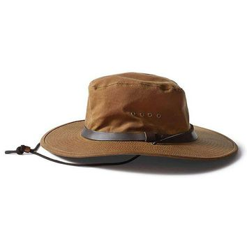 DCCKJG9 Filson Tin Cloth Bush Hat