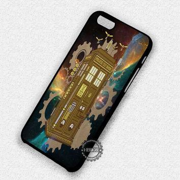 Steampunk Police Box - iPhone 7 6 Plus 5c 5s SE Cases & Covers