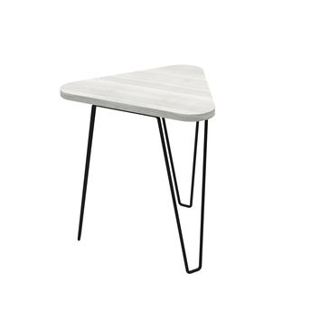 Fleming End Table Artric Grey