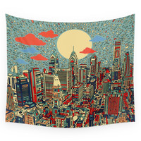 Society6 Philadelphia Wall Tapestry