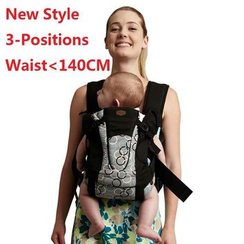 Super Comfortable Baby Wrap Multi-Position Baby Backpack Carrier Waist Size Up to 140CM 100% Cotton Manduca Infant Carrier