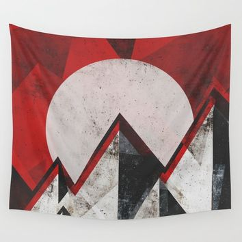 Mount kamikaze Wall Tapestry by HappyMelvin