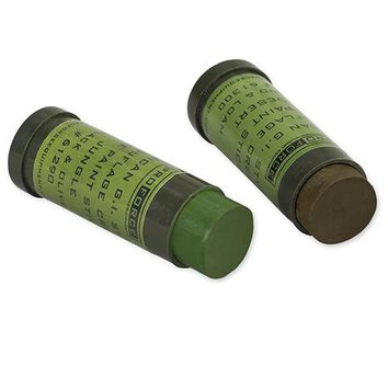 Camcon Face Paint Woodland:Green&Loam 2Pk