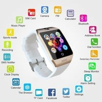 New product Q18S Smart Wrist Watch compatible with Samsung,Xiaomi huaiwei,IPHONE. Android,ios Smartphones iPhone