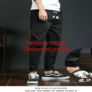 Adidas Trousers Mens M-3XL 2018 Spring Clothes Black