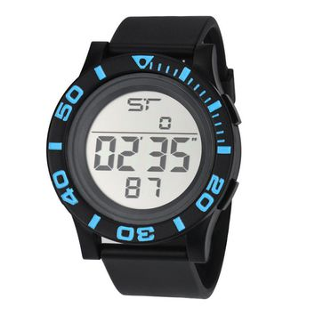 Quartz Wristwatches  Men's Watch  Fashion  Silicone   Sport  Timer  Digital Date  Reloj Hombre  Watches   17DEC13
