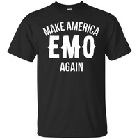 Make America Emo Again T-Shirt funny saying sarcastic tee