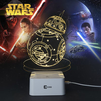 Star Wars assorted 3-D lamps