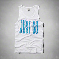 Just Go Graphic Tank