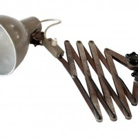 Bauhaus industrial lamp sconce Christian Dell Kaiser | Second Shout Out, Vintage Marketplace