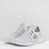 adidas Originals NMD XR1 Silver Boost Sneakers In Gray BY9923 at asos.com