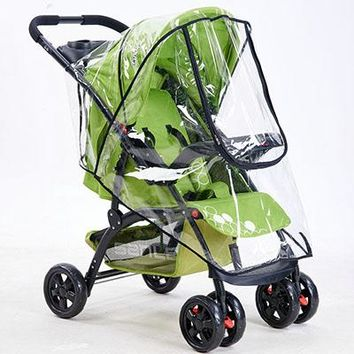 Baby Stroller Cover - PVC Material - Stroller Accessories Pushchairs