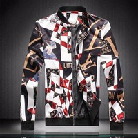 ONETOW Men Louis Vuitton Cardigan Jacket Coat
