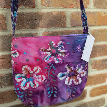 Batik Cross body bag - Tye Dye Bag - Cross body bag - Bitchin Bags