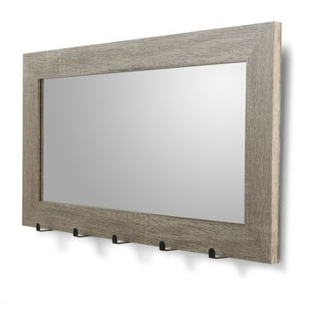 Mirror with Hooks | Kmart