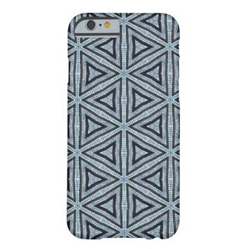 triangles pattern barely there iPhone 6 case