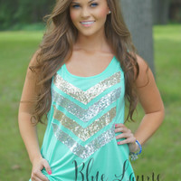Beach Bound Tank (Mint)
